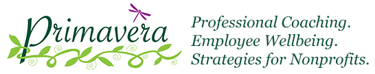 Primavera Strategies for Nonprofits, Professional Coaching, Employee Wellbeing
