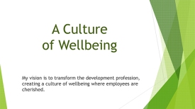 Culture of Wellbeing, Danielle Collins, Primavera, Coaching, Consulting